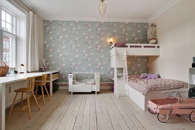 10 Habitaciones infantiles con Papel Pintado