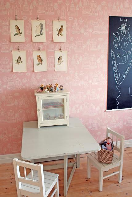 habitaciones infantiles papel pintado 7