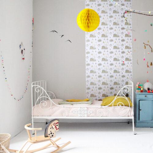 habitaciones infantiles papel pintado 9