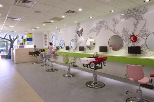 Dise o de espacios infantiles peluquer a en n yoyk - Decoracion en peluquerias ...