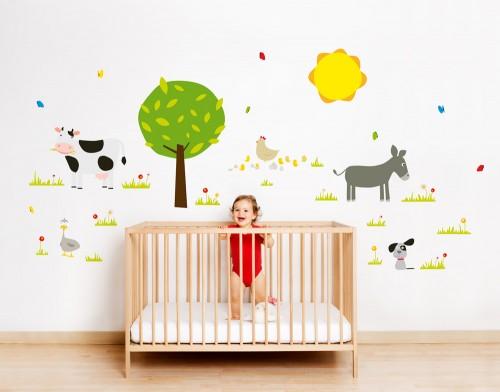 Vinilos infantiles de dise o for Vinilos infantiles para ninas