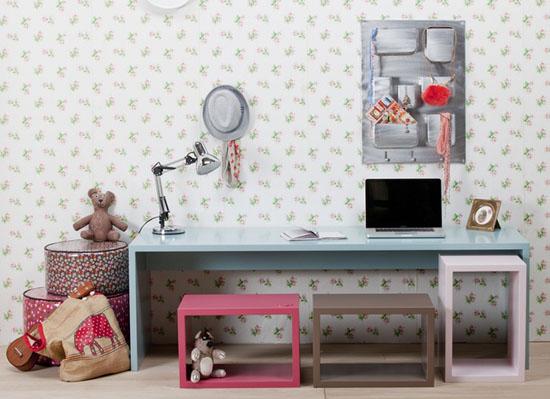 10 Ideas para organizar y decorar la zona de estudio de los niños