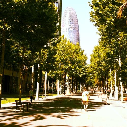 Diagonal 22 y Torre Agbar