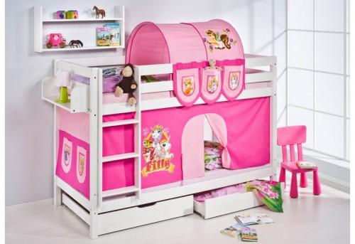 cama litera princesas infantil