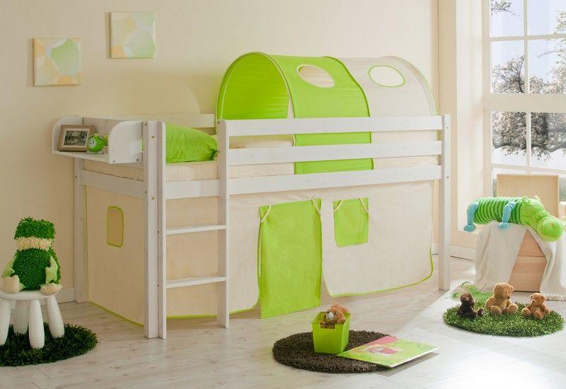 Caballeros y princesas camas semi altas y literas para - Camas infantiles altas ...