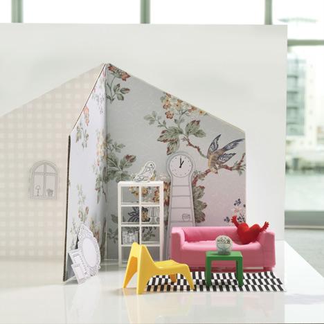 """Ikea lanza la versión """"casita de muñecas"""" de sus muebles"""
