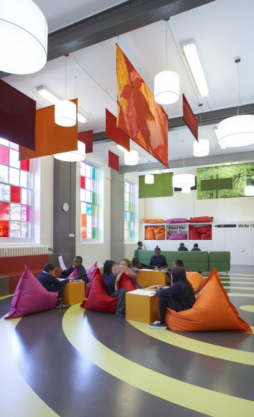 Innovative Primary Classrooms : Espacios cool para ni�os primary school en londres