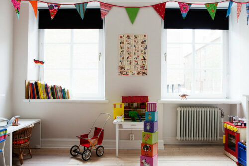 10 habitaciones para ni os con estilo escandinavo decopeques - Habitaciones infantiles ninos ...