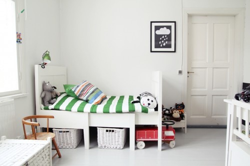 habitaciones niños estilo escandinavo