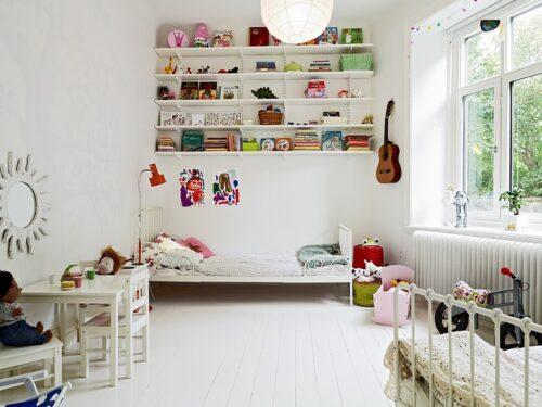 10 habitaciones para ni os con estilo escandinavo decopeques - Habitaciones nordicas ...