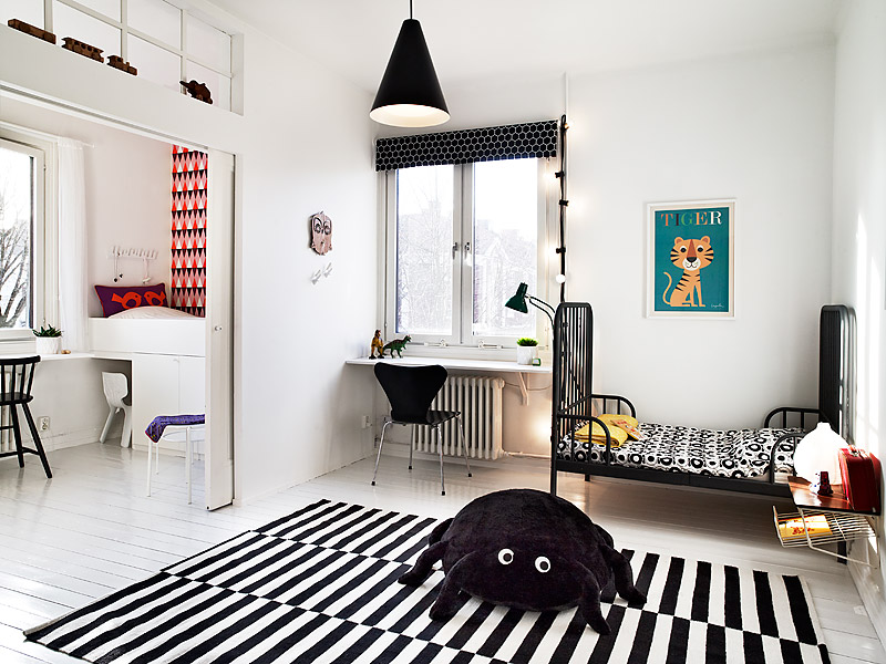 10 Habitaciones para Niños con estilo escandinavo