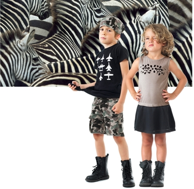 look safari moda infantil yporque