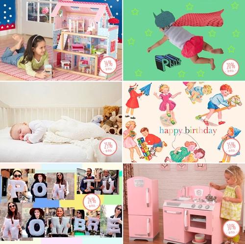 Mamuky, juguetes, moda infantil , decoración,… con grandes descuentos