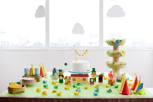 fiesta infantil granja