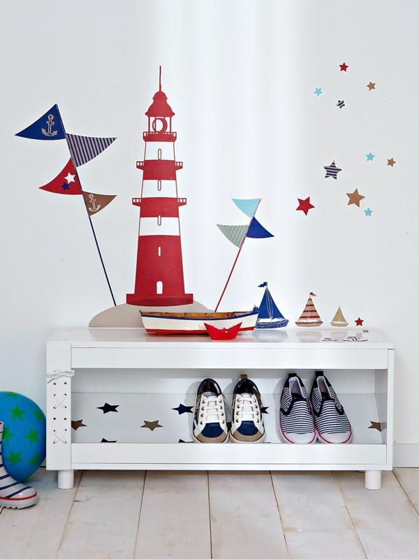 Rebajas en decoraci n infantil vertbaudet decopeques for Decoracion habitacion bebe marinero