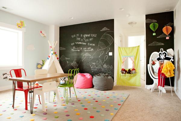 10 habitaciones infantiles de juegos ideales decopeques - Ver habitaciones infantiles ...