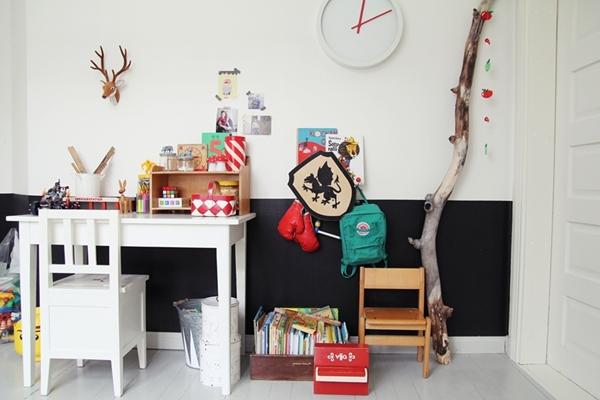 10 incre bles zonas de estudio para ni os decopeques - Mesas de estudio para ninos ...