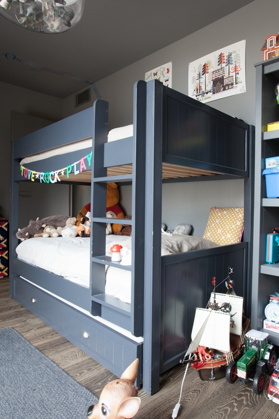 Dormitorios infantiles muy cool decopeques - Imagenes de habitaciones para ninos ...