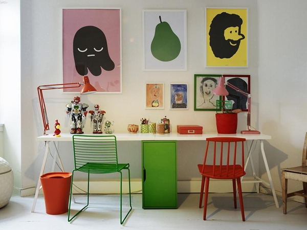 10 incre bles zonas de estudio para ni os decopeques for Estudiar decoracion de interiores