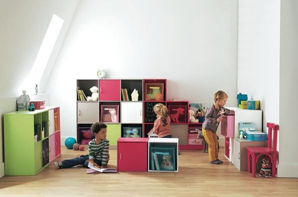 modulos-almacenaje-niños-vertbaudet