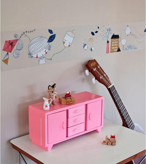 Los nuevos vinilos decorativos infantiles de swantje y for Vinilos de pared juveniles