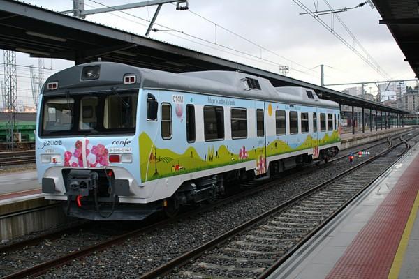 Tren-ruta de la Camelia