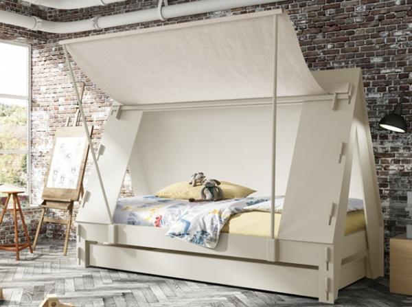 Les encantar dormir en una caba a decopeques - Camas con tobogan para ninos ...