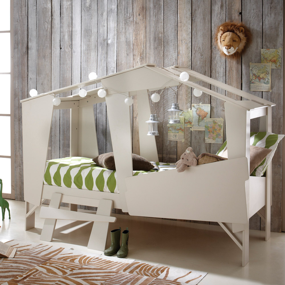 Una original cama caba a para ni os decopeques for Cama original
