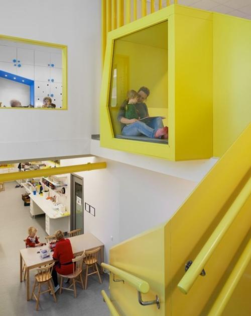 Espacios Cool para Niños…Sjotorget Kindergarten