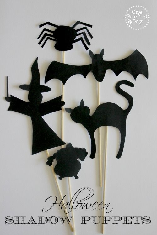 10 ideas para un halloween terror ficamente bonito for Free shadow puppet templates