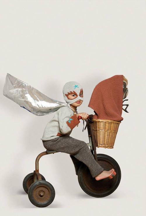 La divertida colección de moda infantil de Oeuf NYC