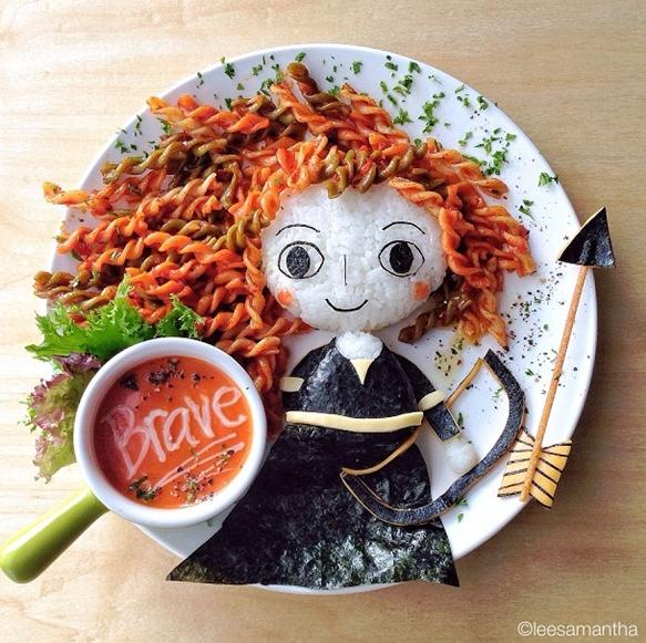 Cocina creativa a la hora de comer