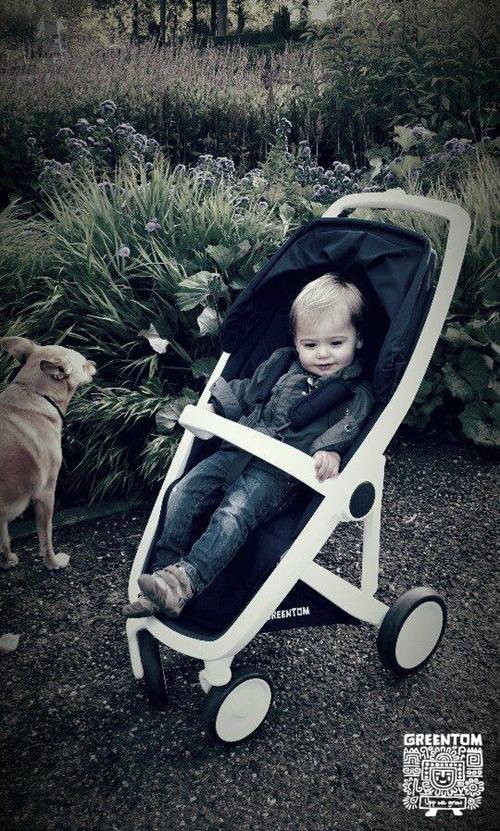 Greentom Upp, la silla de paseo más verde del mundo.