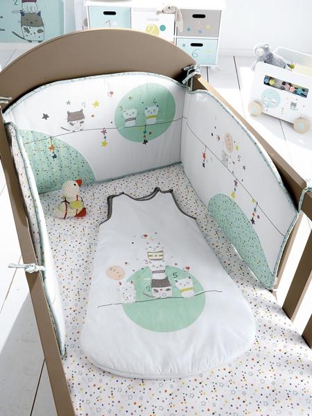 textil-cama-bebe-gatitos