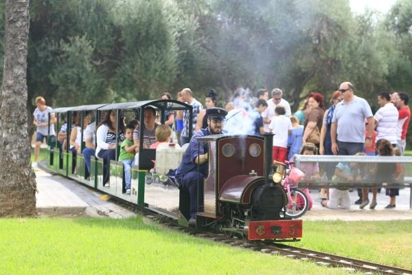 tren de la granja