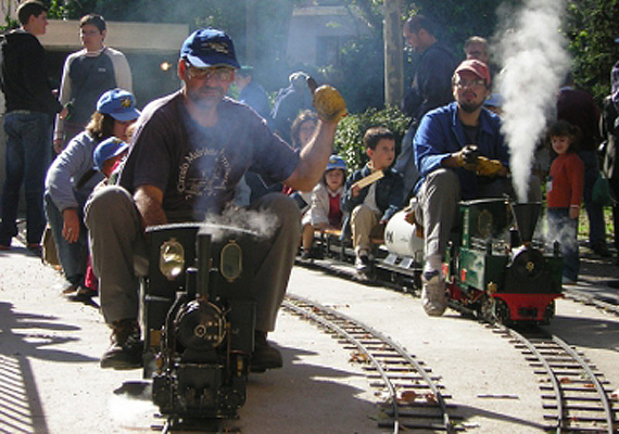 tren del jardin