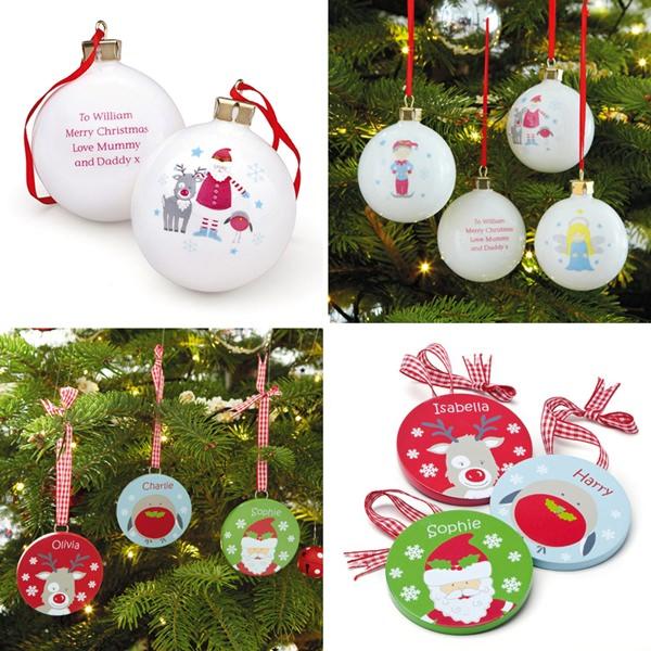 Adornos Personalizados de Navidad