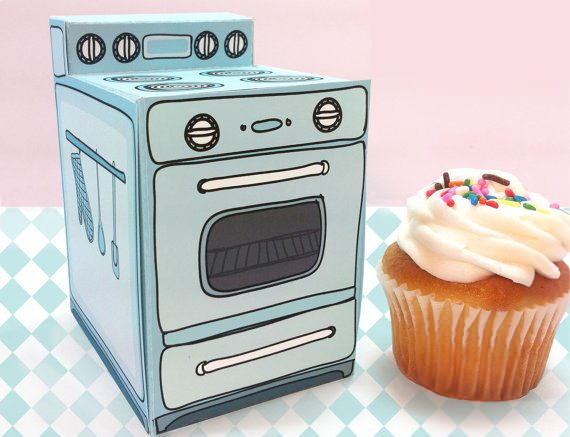 cajitas para cupcakes