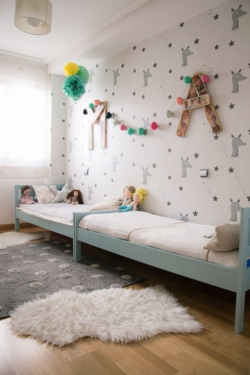 Ikea hacks habitaci n infantil compartida decopeques - Ideas decoracion habitacion infantil ...