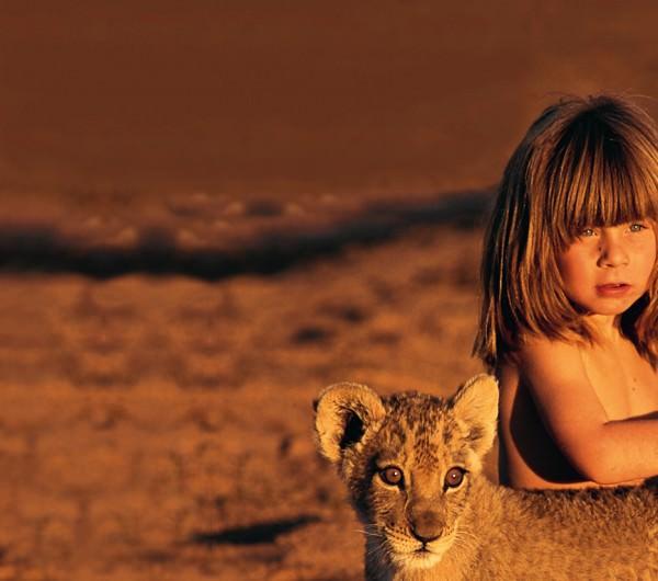 Tippi Degré, la verdadera Mowgli de la selva