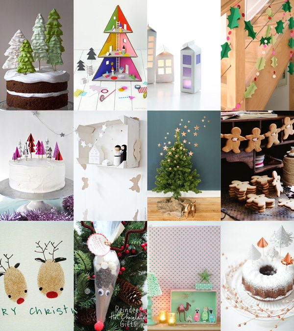 12 ideas para hacer esta Navidad con los Niños