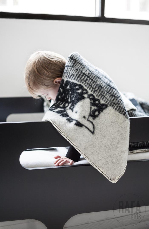 Las mantas de lana de Rafa Kids.