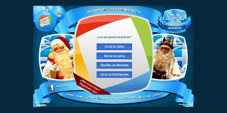 ¿Sabes que Papá Noel y los Reyes Magos pueden enviarle un vídeo personalizado a tus hijos?