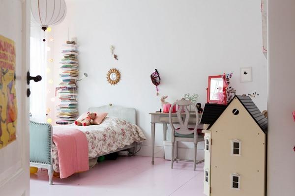 dormitorio-niña-vintage