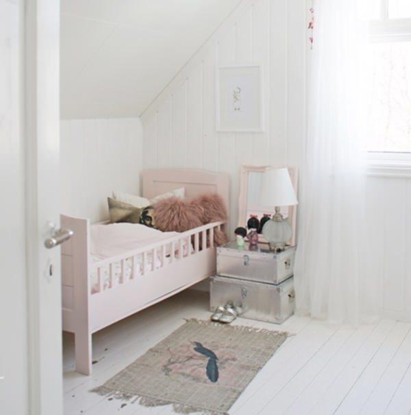 10 habitaciones de ensue o para ni as decopeques - Dormitorios de nina en blanco ...