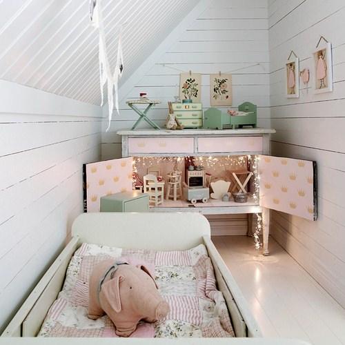 10 habitaciones de ensue o para ni as decopeques - Habitaciones juveniles con encanto ...