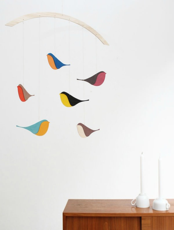 Songbirds Mobile by Snug
