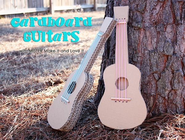 guitarras-carton-diy