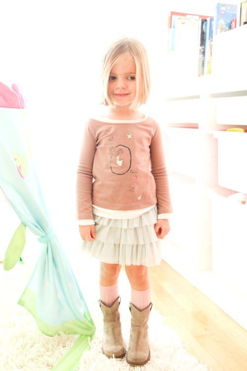 Pistas de Moda Infantil… Tul