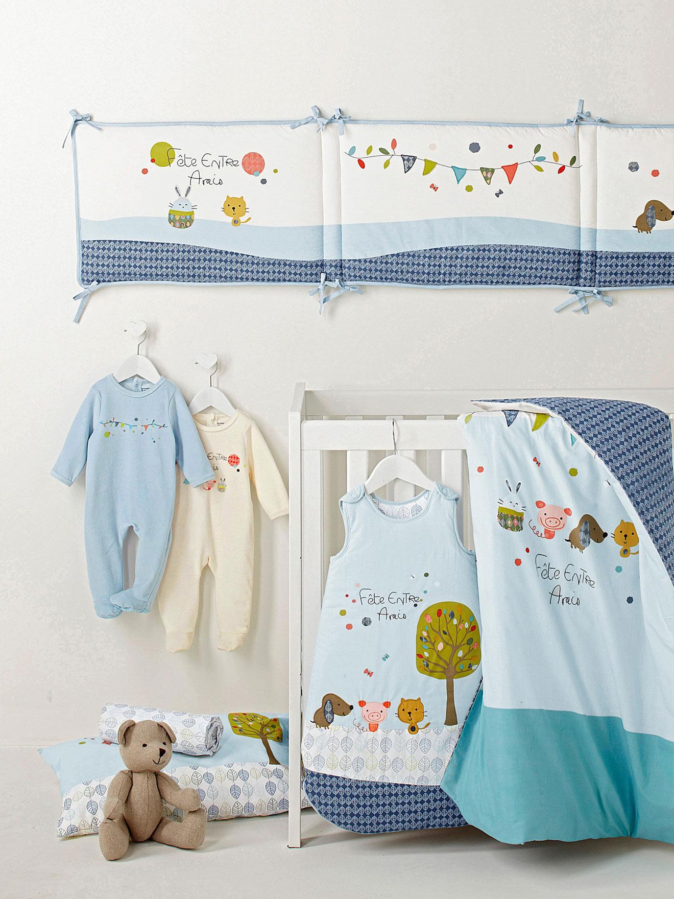 Ropa de cama y cuna vertbaudet felices sue os decopeques - Ropa de cama original ...